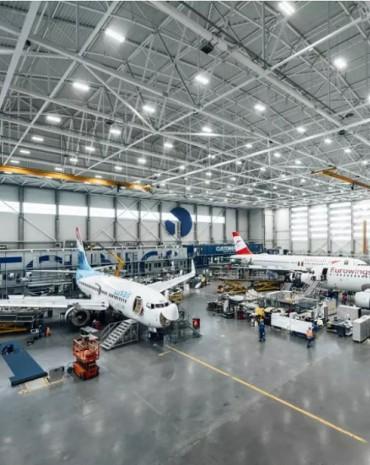Aircraft Repair Terminal
