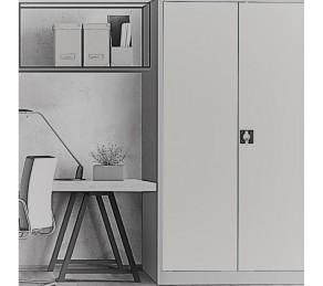 Металлические  oфисные  шкафы