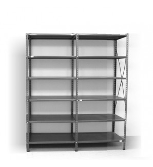 6 - level shelf 2200x1600x500
