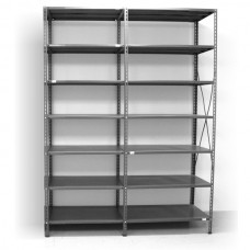 7 - level shelf 2400x1600x400