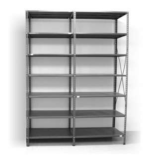 7 - level shelf 2400x1600x500