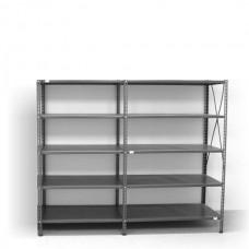 5- level shelf 2000x1800x300