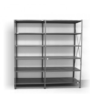 6 - level shelf 2200x1800x300