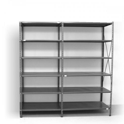 6 - level shelf 2200x1800x600