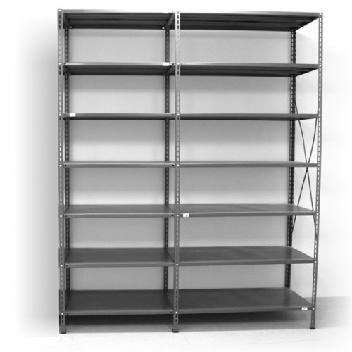 7 - level shelf 2500x1800x400