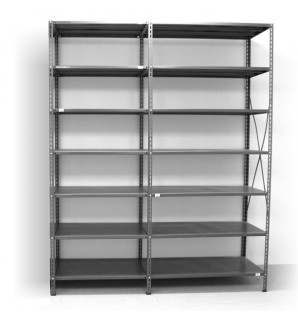 7 - level shelf 2400x1800x500