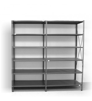 6 - level shelf 2200x2400x300