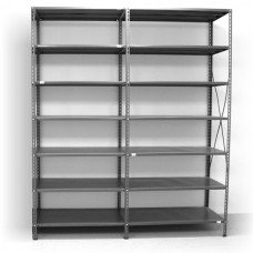 7 - level shelf 2500x2200x400