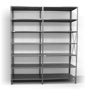 7 - level shelf 2500x2400x400