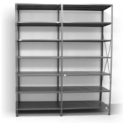 7 - level shelf 2400x2400x400