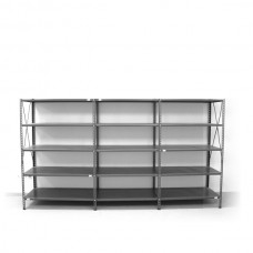 5- level shelf 2000x2600x400