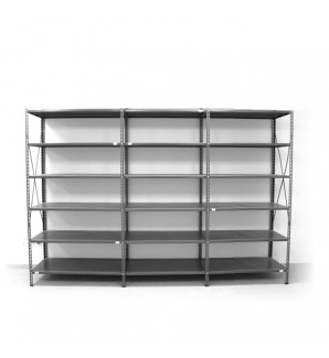 6 - level shelf 2200x2600x600