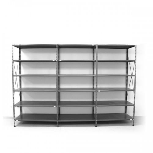 6 - level shelf 2200x2600x300