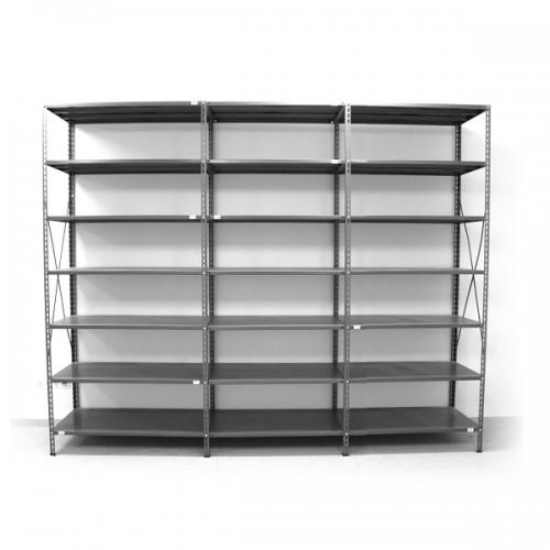 7 - level shelf 2500x2600x400