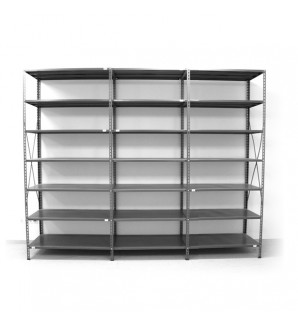 7 - level shelf 2500x2600x300