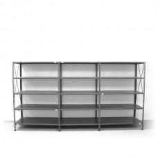 5- level shelf 2000x3600x400