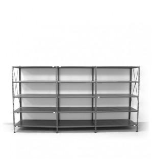 5- level shelf 2000x3600x600