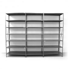 7 - level shelf 2500x3600x400