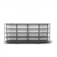 5- level shelf 2000x3800x400