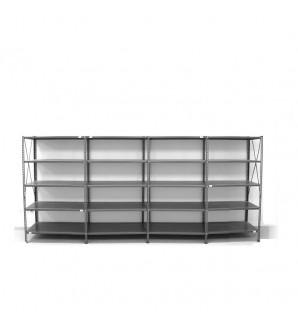 5- level shelf 2000x3800x600