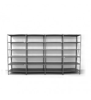 6 - level shelf 2200x3800x400