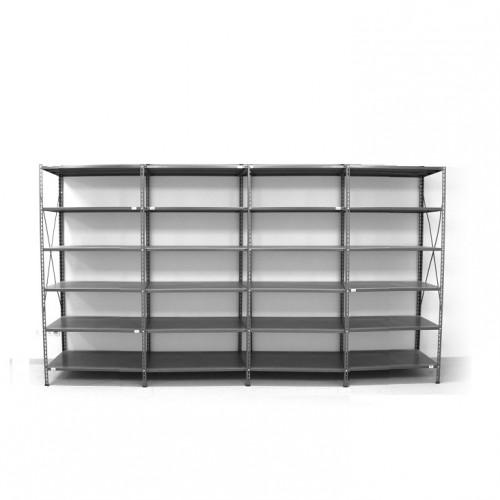 6 - level shelf 2200x3800x600