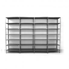 7 - level shelf 2400x3800x500