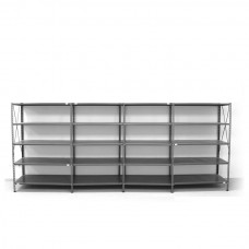 5- level shelf 2000x4000x500