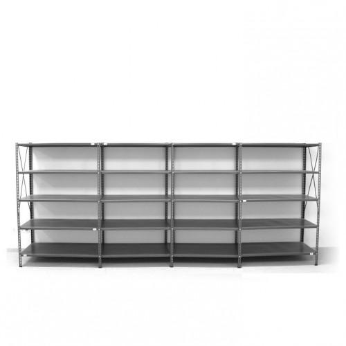5- level shelf 2000x4000x600