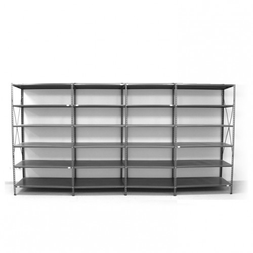 6 - level shelf 2200x4000x400