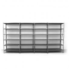6 - level shelf 2200x4000x300