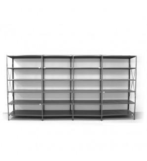 6 - level shelf 2200x4000x600
