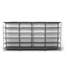 6 - level shelf 2200x4400x400