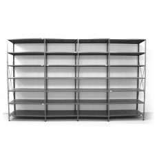 7 - level shelf 2400x4000x600