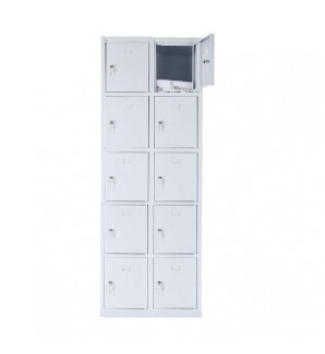 10 - section metal cabinet 1800x600x490