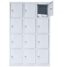 12 - секционный mеталлический шкаф 1800x1200x490