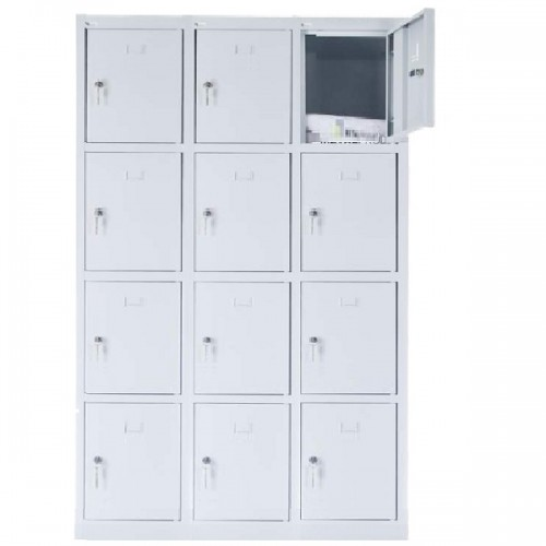 12 - section metal cabinet 1800x1200x490