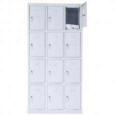 12 - section metal cabinet 1800x900x490