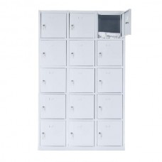 15 - section metal cabinet 1800x1200x490
