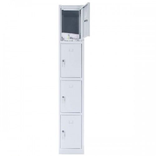 4 - section metal cabinet 1800x300x490