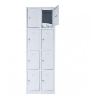 8 - section metal cabinet 1800x600x490