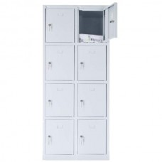 8 - section metal cabinet 1800x800x490