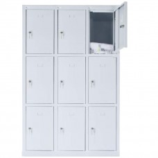 9 - section metal cabinet 1800x1200x490