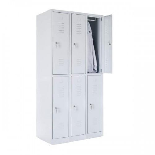 Six-person locker 1800x900x490
