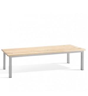 Деревянная скамейка 1500x330x400