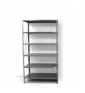6 - level shelf 2200x1000x300