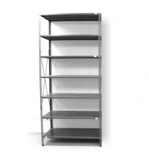 7 - level shelf 2500x1200x300